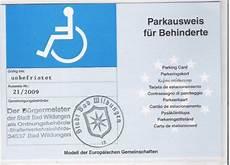 parkausweis für behinderte unbefristet bild 2 aus beitrag der behinderten parkplatz und sein