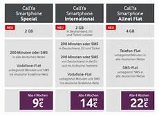 Callya Prepaid Tarife Mehr Datenvolumen F 252 R Neu Und