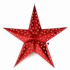 papierstern 3d 10 led rot weihnachtsstern faltstern