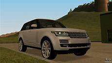 Land Rover Range Rover Vogue For Gta San Andreas