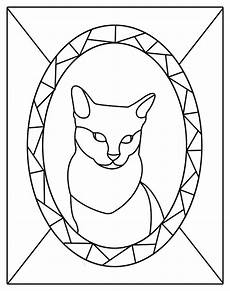 free kitten patterns stained glass patterns for free