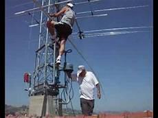 traliccio antenna ham radio iz6clz antenna home made 10 15 20 40 80