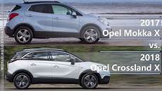 2017 Opel Mokka X Vs 2018 Opel Crossland X Technical