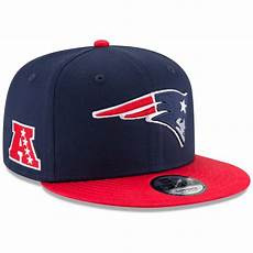 new era new patriots baycik snapback hat navy