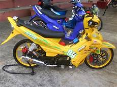 Modifikasi Motor Jupiter Burhan by Foto Gambar Modifikasi Jupiter Z Standar Burhan Ala Road