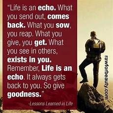 life is an echo quote and i quote pinterest