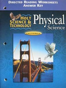 holt science directed reading worksheets 13473 creating america standards enrichment workbook te ca te p 0618582754 28 95 k 12
