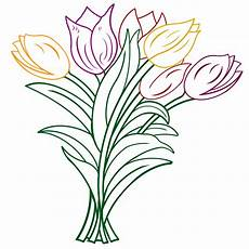 Ausmalbilder Blumen Tulpen Tulpen 171 Gedichte