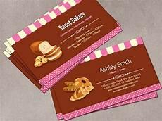 bakery name card template sweet bakery shop business card template business card