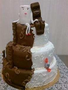 Milchglas Kinderriegel Torte Hochzeitstorte