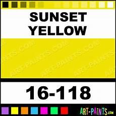 sunset yellow modelflex automotive airbrush spray paints