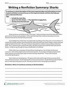 summary writing worksheets for grade 4 22902 summarizing nonfiction education