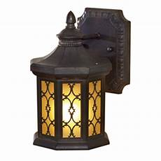 shop allen roth hardaway 9 in h marbella wrought iron outdoor wall light at lowes com