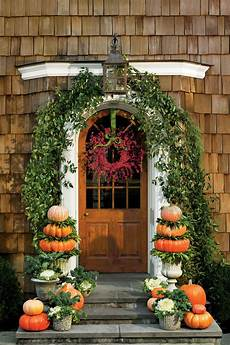 Outdoor Decorations by 30 Outdoor Decorations For Fall Southern Living