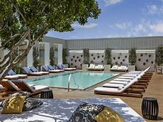 the best hotel pools in la mapped curbed la