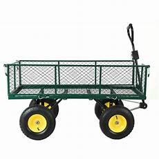 les 3 meilleurs chariots de jardin 4 roues du moment