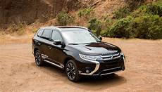 mitsubishi s outlander in hybrid is an understated