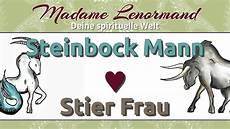 Steinbock Mann Stier Frau Madame Lenormand