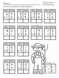 addition worksheets no regrouping 8971 2 digit addition no regrouping by christi squires tpt