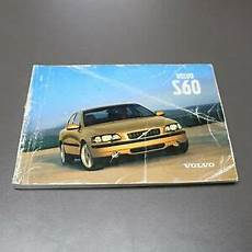 vehicle repair manual 2001 volvo s60 free book repair manuals original volvo owner s manual book for volvo s60 2001 ebay