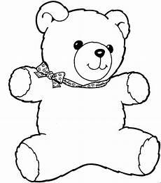 teddybaer 4 ausmalbild malvorlage kinder