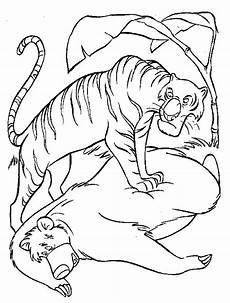 Malvorlagen Jungle Junglebook Kleurplaten Disneykleurplaten