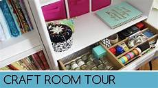 craft room tour 2016 youtube
