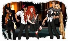 Disney Malvorlagen Harry Potter Disney Princess Dressed In Harry Potter S Hogwarts House