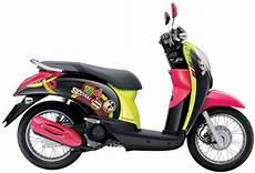 Helm Scoopy Modif by Modifikasi Motor Honda Matic Scoopy Thailook Ala Thailand