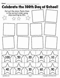 worksheets on skip counting by 10 s 11973 printable 100th day of school skip counting by 10 s worksheet supplyme