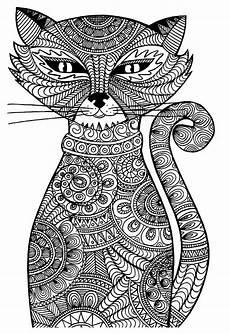 Ausmalbilder Erwachsene Ausdrucken Ausmalbilder F 252 R Erwachsene Tiere Katze 1147 Malvorlage