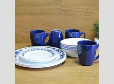 Alphaespace USA: 16 points of set blue floral design