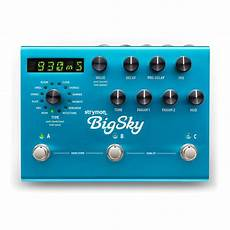 big sky reverb strymon big sky multi reverb pedal b stock at gear4music