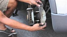 how to replace 2006 volvo xc90 front brake pads