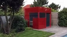 Gartenhaus Glas Cube Gardomo