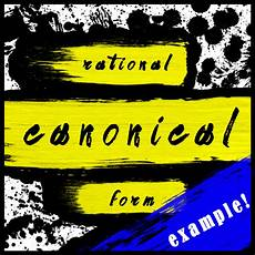 rational canonical form exle 1