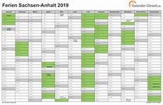 Sachsen Sommerferien 2019 - ferien sachsen anhalt 2019 ferienkalender zum ausdrucken