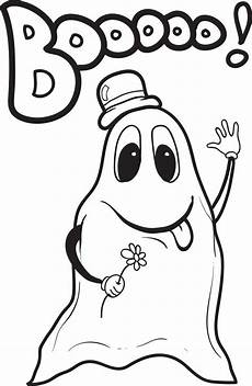 Malvorlagen Gespenst Printable Ghost Coloring Page For 4 Supplyme
