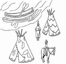 Malvorlagen Indianer Malvorlagen Fur Kinder Ausmalbilder Indianer Kostenlos