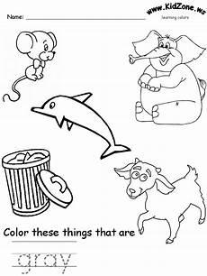 color gray worksheets for preschool 12862 preschool grey worksheet color theme craft activities worksheets preschool