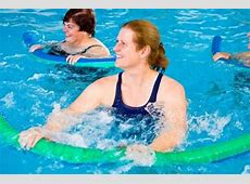 Swimming Equipment for Deep Water Exercises   Woman