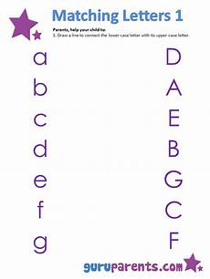 letter matching printable worksheets 24293 matching letters worksheets guruparents