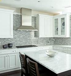 Glass Mosaic Kitchen Backsplash Gray Glass Kitchen Tiles Brown Gray Glass Mosaic