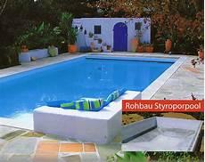 Styropor Pool Komplettset - styropor pool im eigenbau sunday pools onlineshop