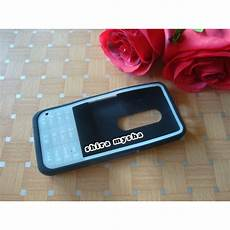 jual silikon soft case full keypad nokia asha 301 glow in the dark n301 hitam shira shop