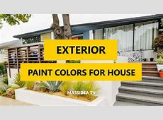 50  Best Exterior Paint Colors for House 2018   YouTube