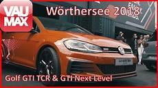 Gti Treffen 2018 - gti treffen w 246 rthersee 2018 vw golf gti tcr concept