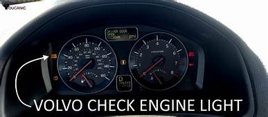Volvo Check Engine Light Troubleshooting Guide