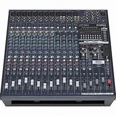Yamaha Emx5016cf 16 Input Powered Mixer With Dual 500 Watt