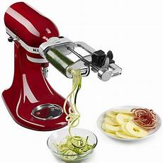 Spiralizer Kitchenaid Tool by Kitchenaid 174 5 Blade Spiralizer With Peel And Slice